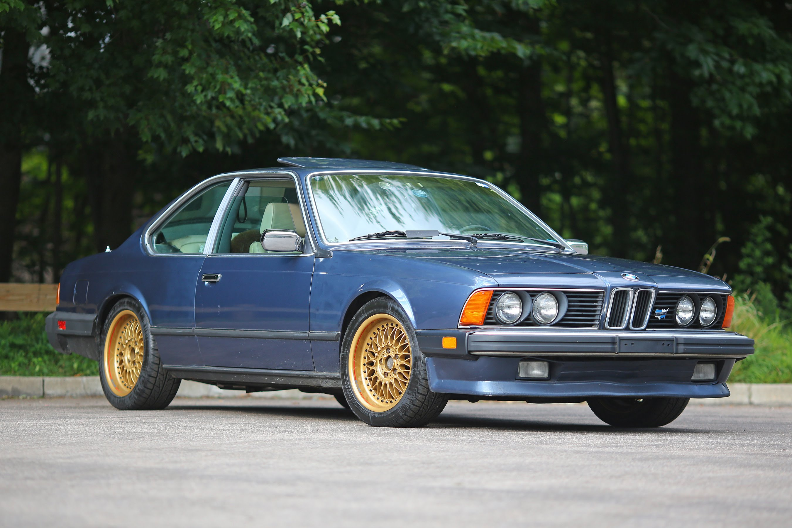 BMW 6 series 635CSi 1986 photo - 12