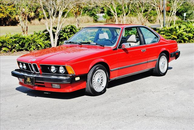BMW 6 series 635CSi 1986 photo - 2