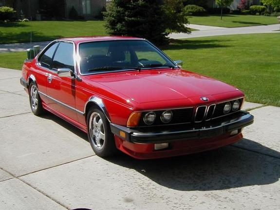 BMW 6 series 635CSi 1986 photo - 6