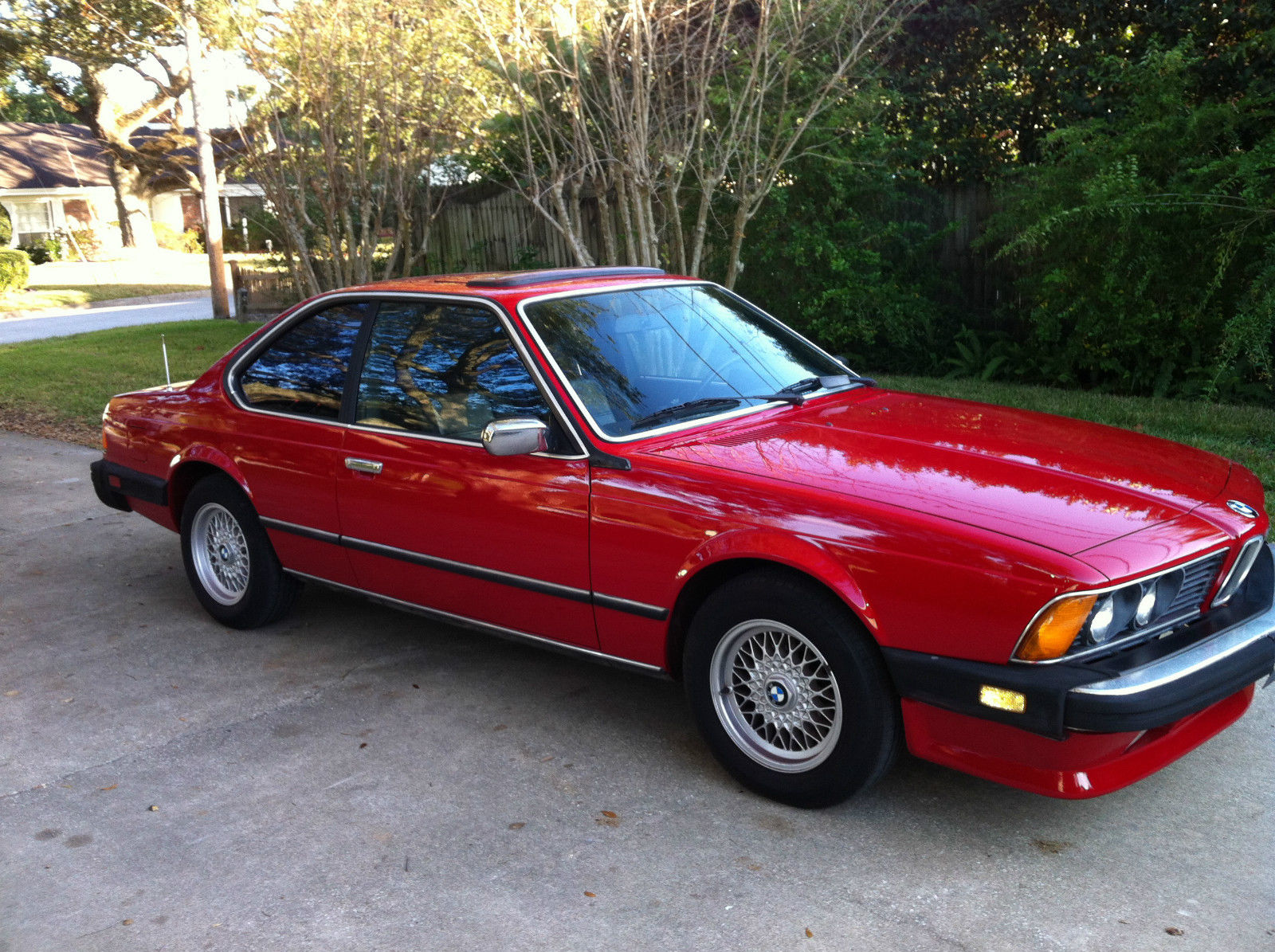 BMW 6 series 635CSi 1986 photo - 7