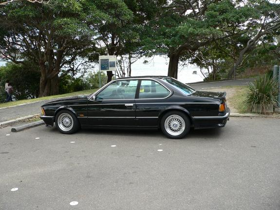 BMW 6 series 635CSi 1986 photo - 8
