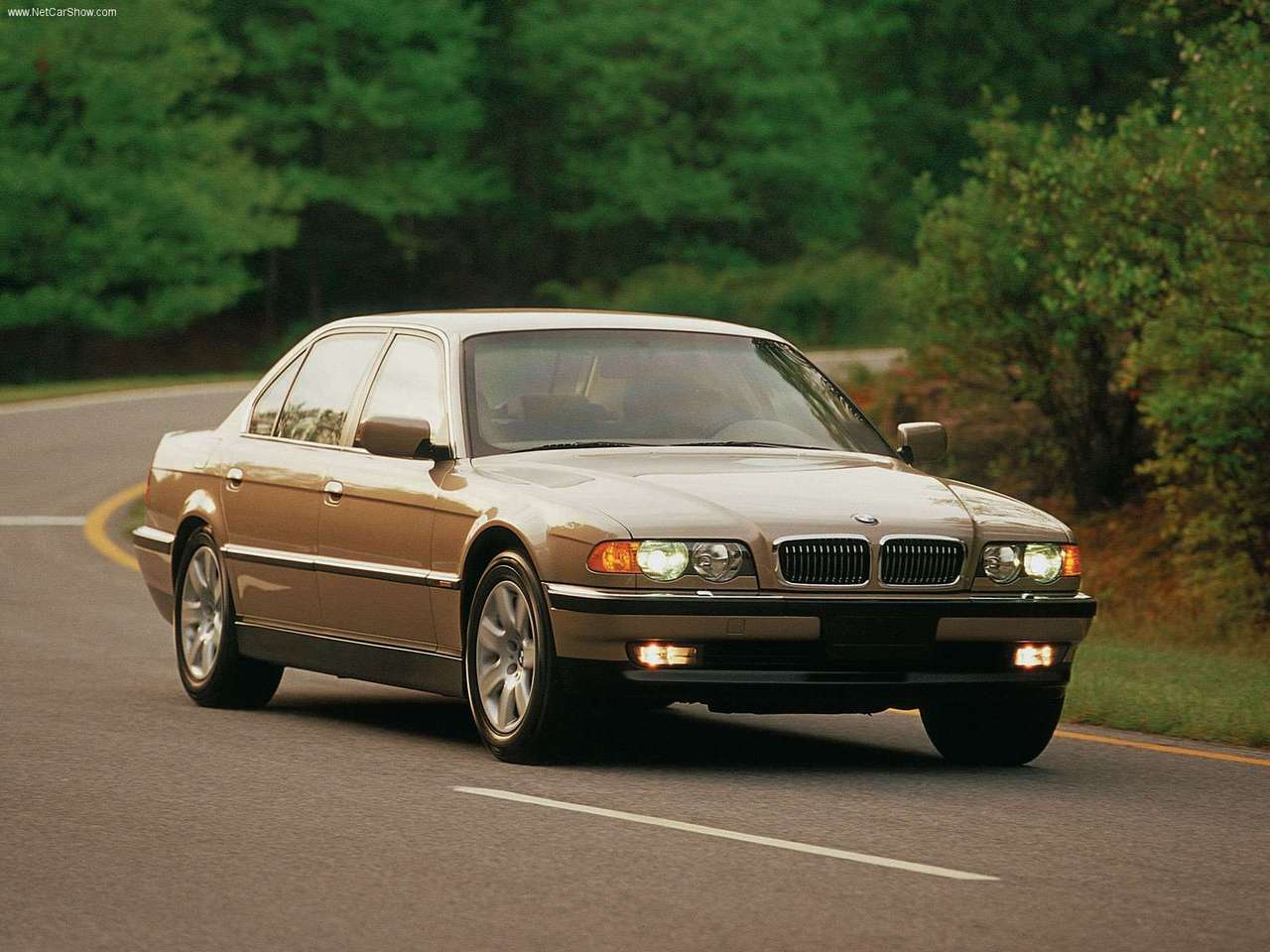 BMW 7 series 725tds 2000 photo - 1