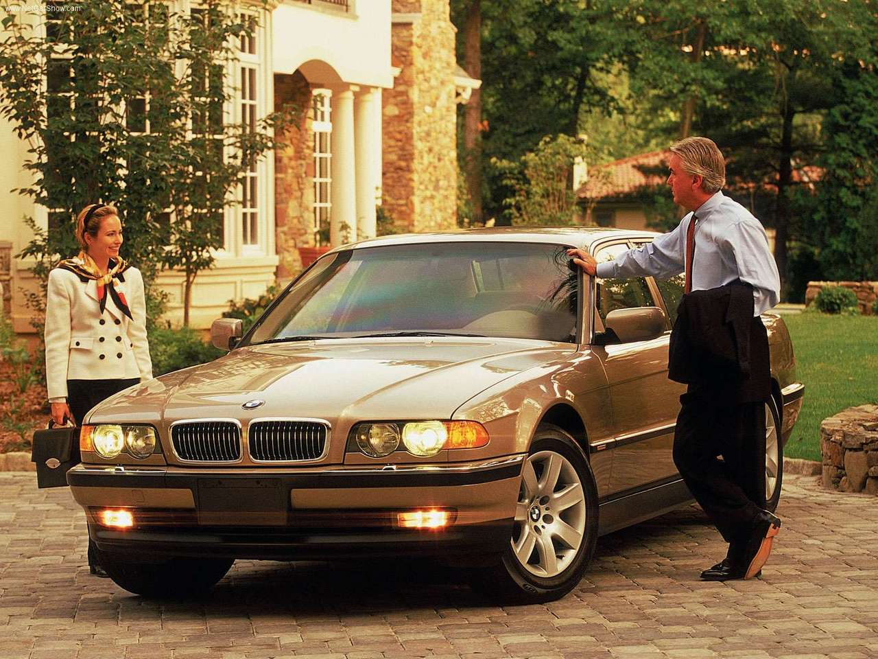 BMW 7 series 725tds 2000 photo - 3