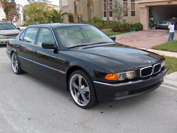BMW 7 series 725tds 2000 photo - 6