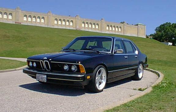 BMW 7 series 728i 1981 photo - 9