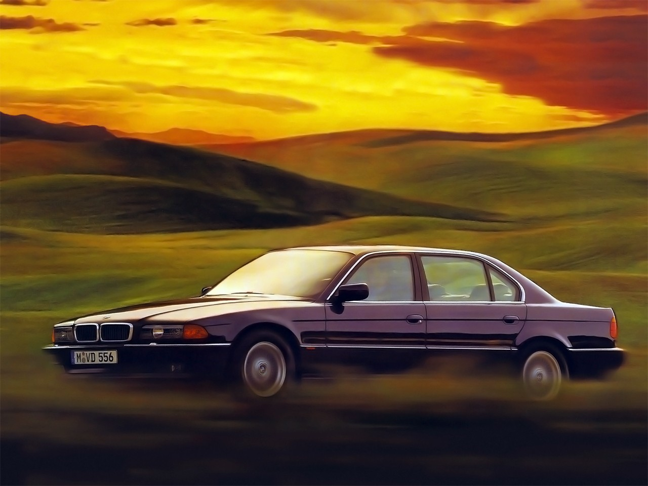 BMW 7 series 728i 1996 photo - 12