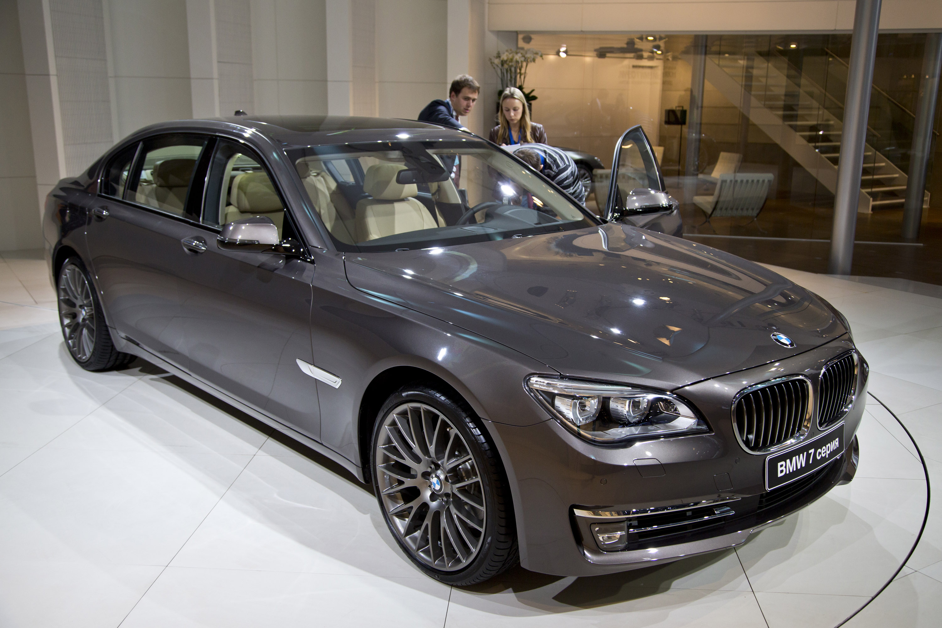 BMW 7 series 730Li 2012 photo - 6