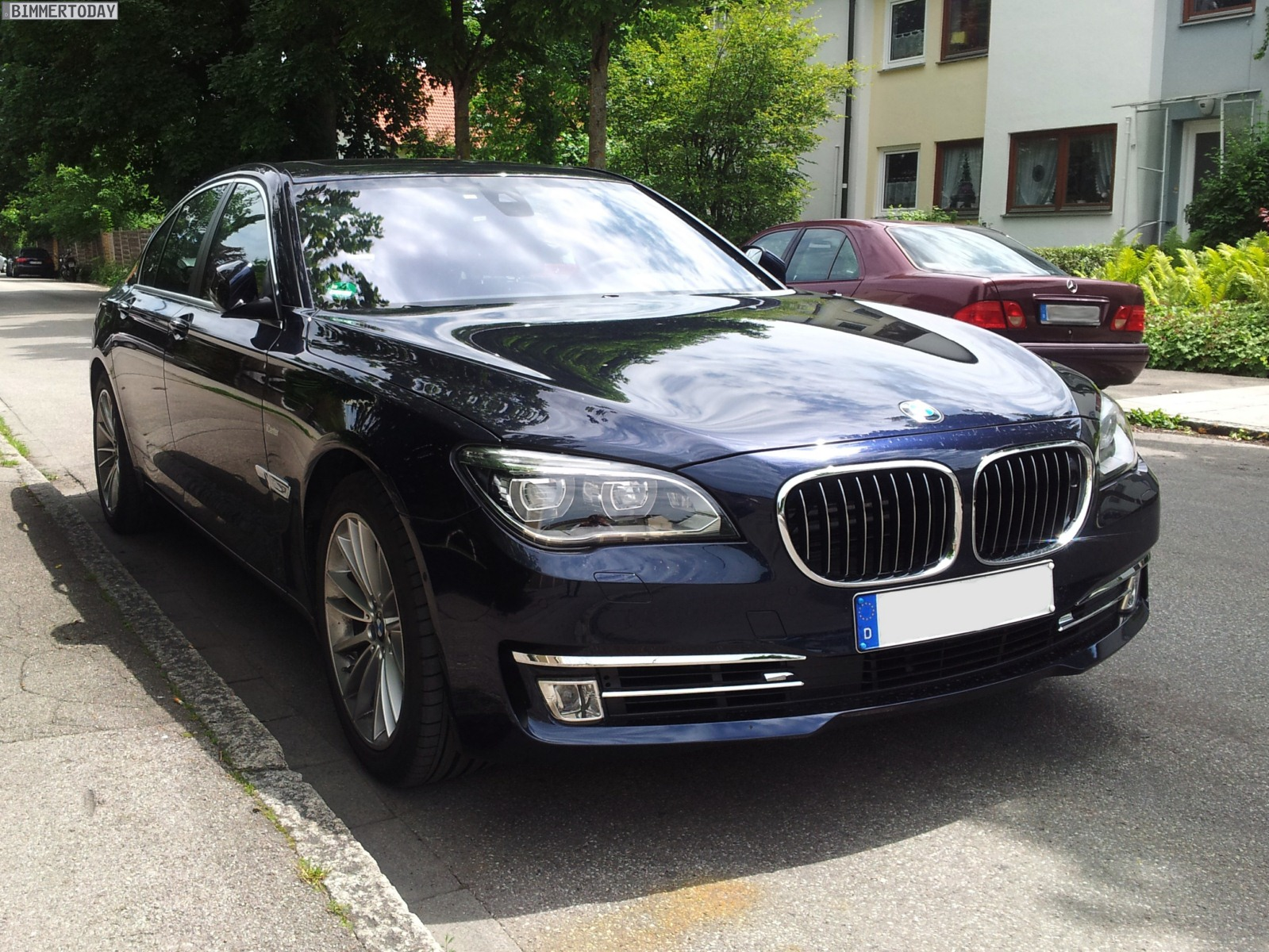 Bmw 7 Series 730d 2012 Technical Specifications Interior