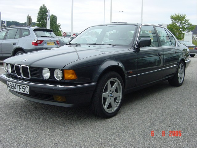 BMW 7 series 730i 1986 photo - 8