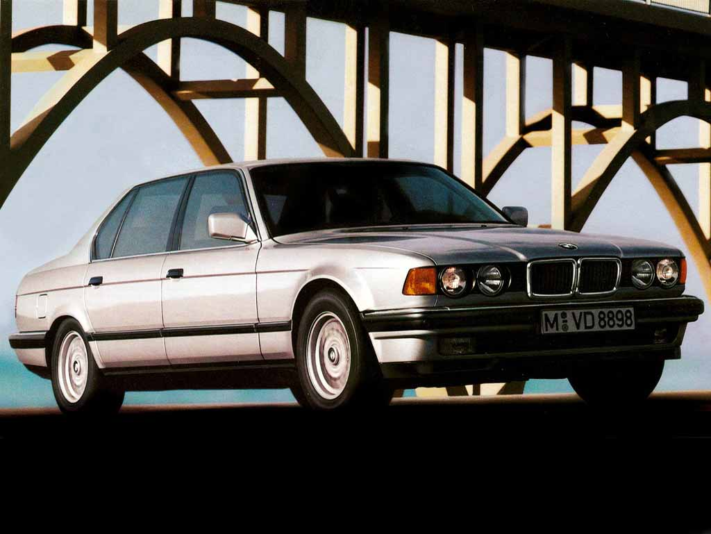 BMW 7 series 730i 1986 photo - 9