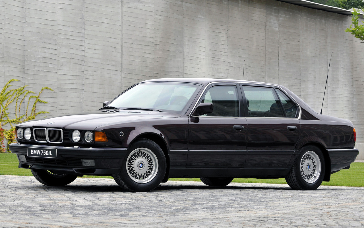 Worksheet. BMW 7 series 730i 1988 Technical specifications  Interior and