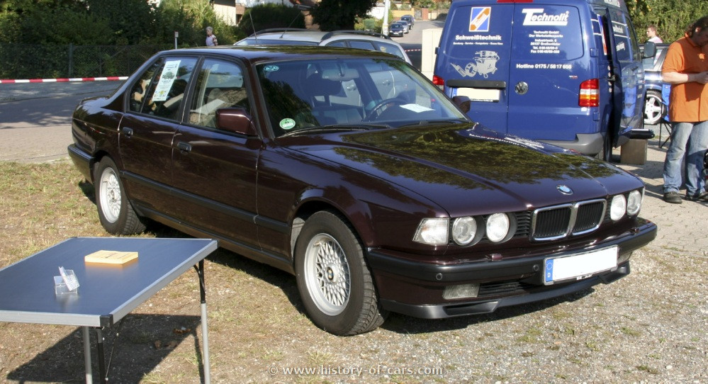 BMW 7 series 730i 1992 photo - 1