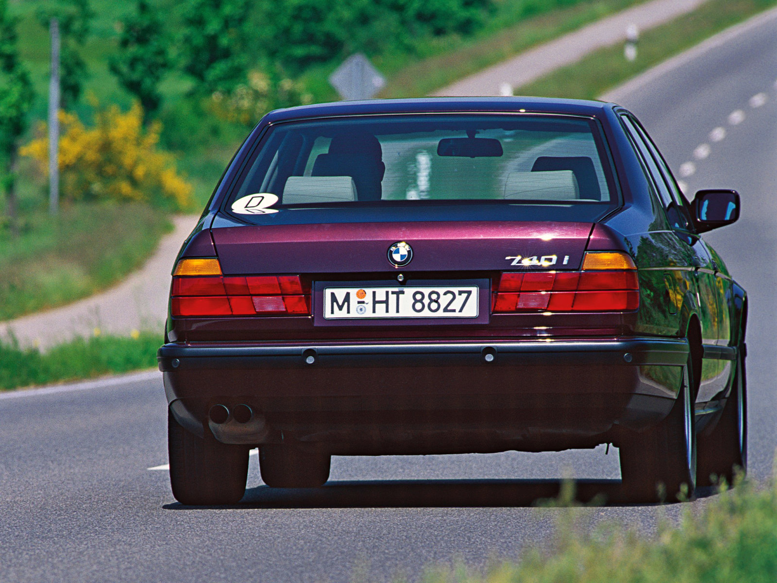 BMW 7 series 730i 1992 photo - 7