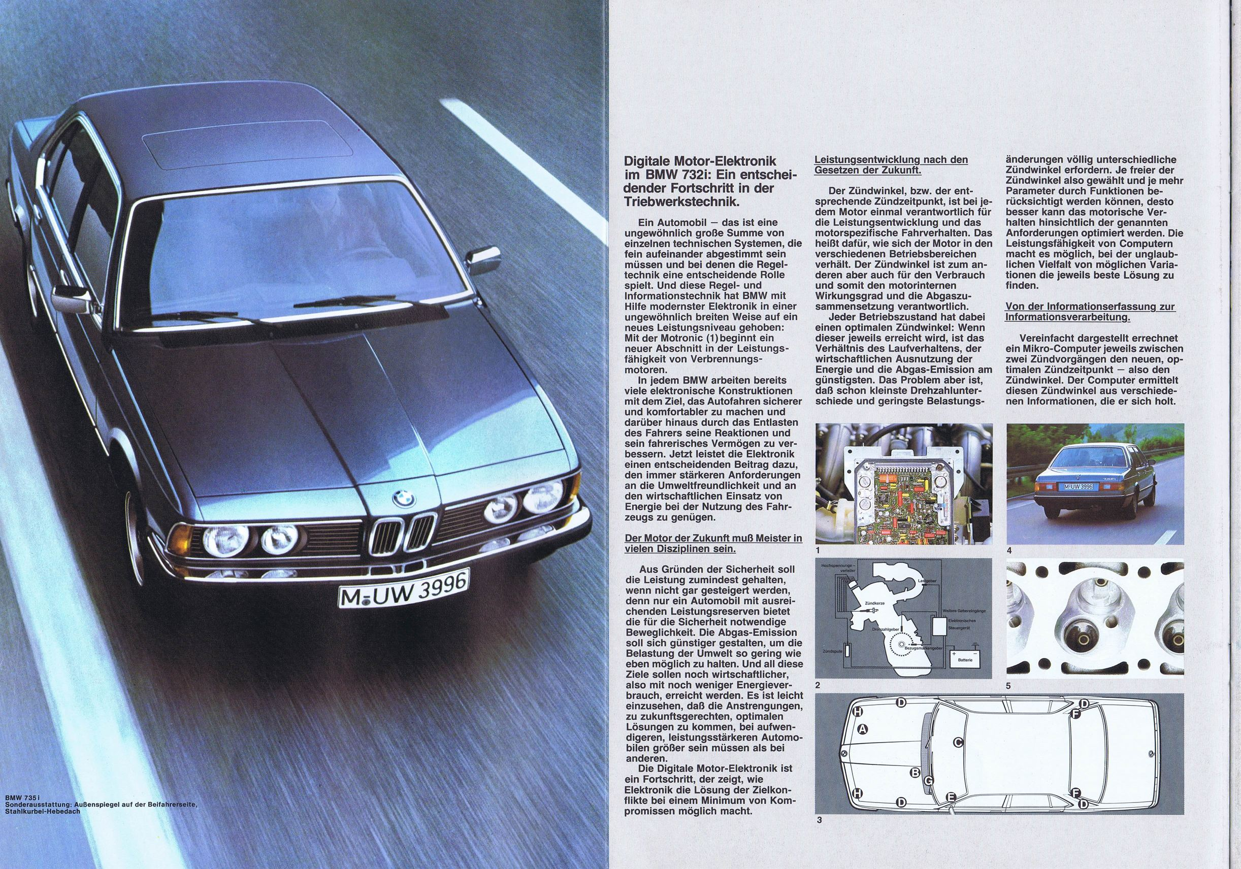BMW 7 series 732i 1979 photo - 11