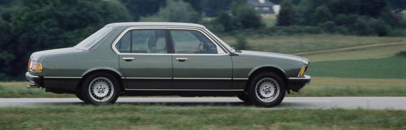 BMW 7 series 732i 1979 photo - 4