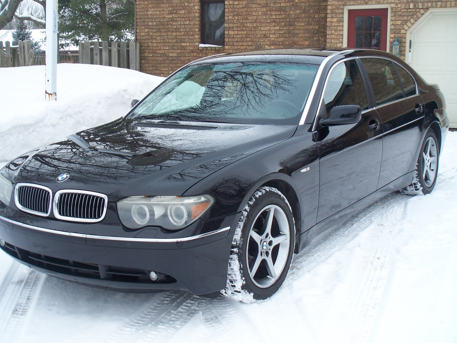BMW 7 series 735Li 2004 photo - 11