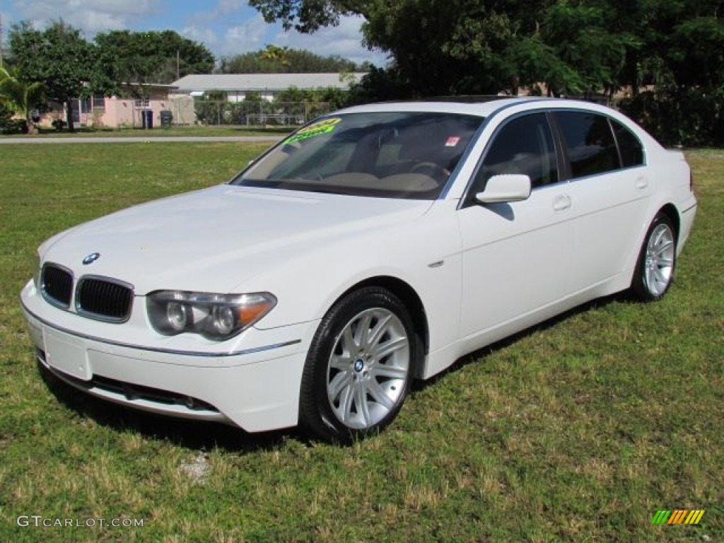 BMW 7 series 735Li 2004 photo - 8