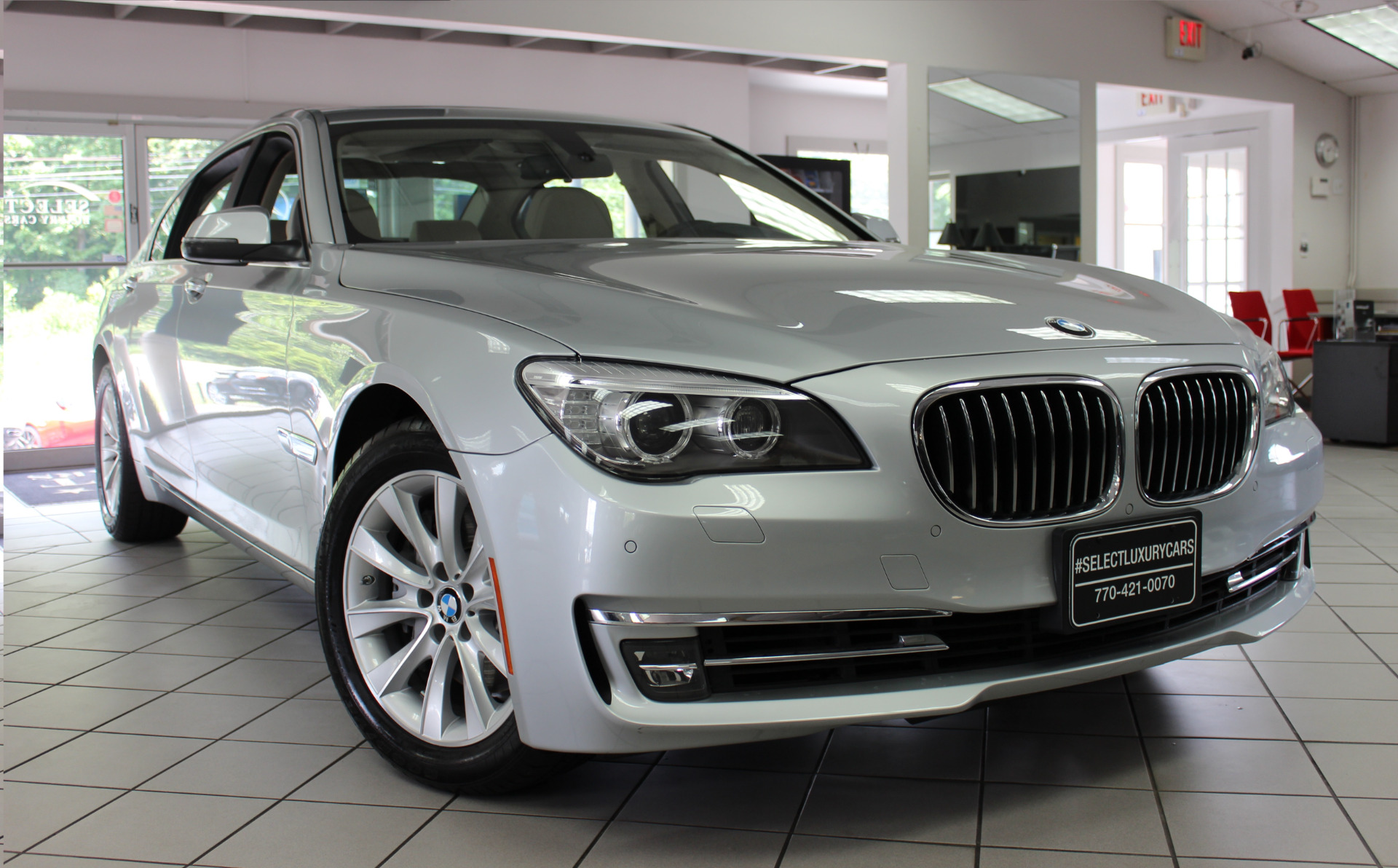 BMW 7 series 740Li 2013 photo - 1