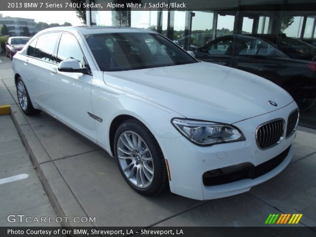 BMW 7 series 740Li 2013 photo - 2