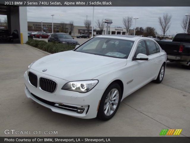 BMW 7 series 740Li 2013 photo - 8