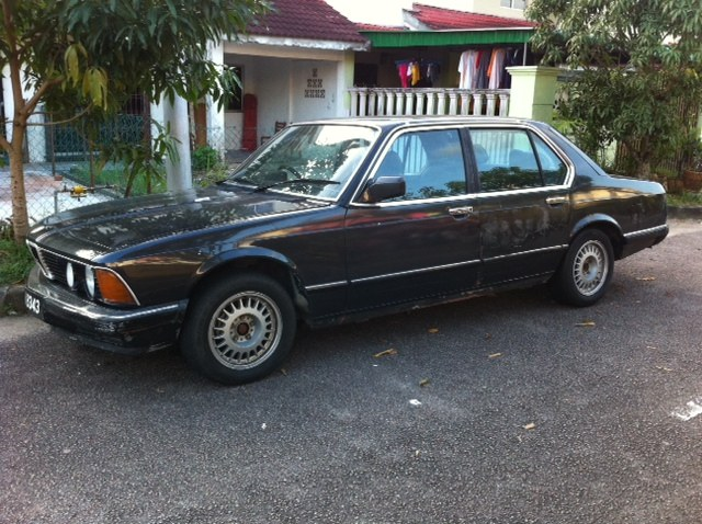 BMW 7 series 740iL 1986 photo - 1