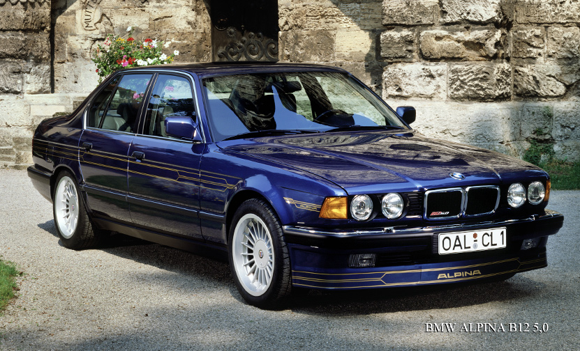 BMW 7 series 740iL 1986 photo - 7