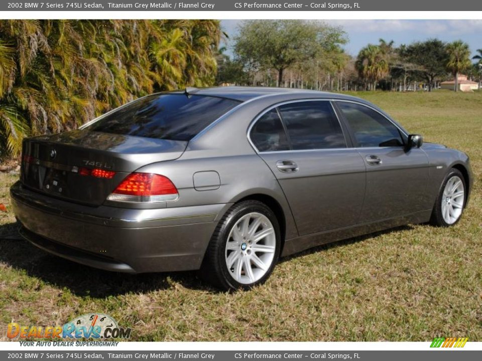 BMW 7 series 745Li 2002 photo - 10