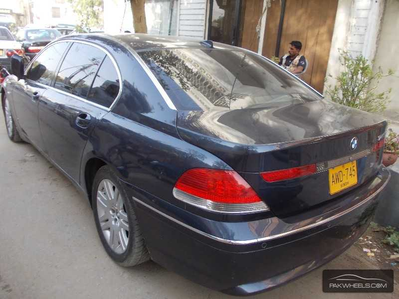 BMW 7 series 745Li 2002 photo - 11