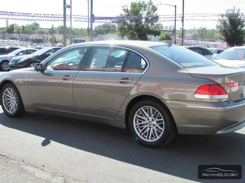 BMW 7 series 745Li 2002 photo - 5