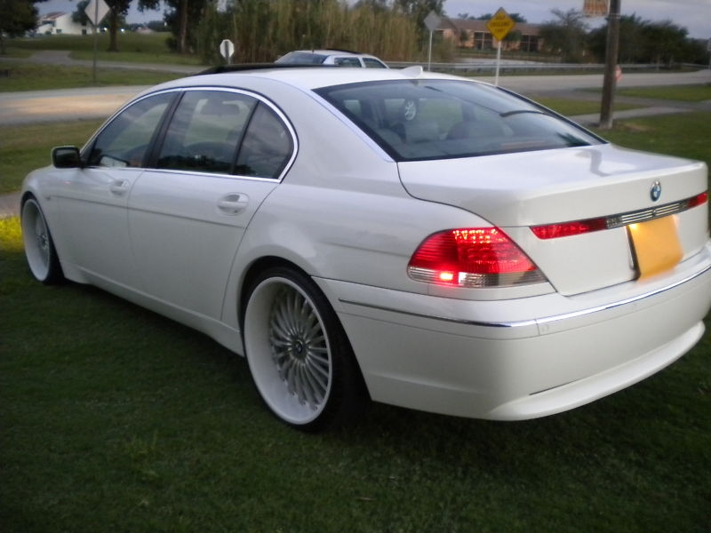 BMW 7 series 745Li 2002 photo - 8