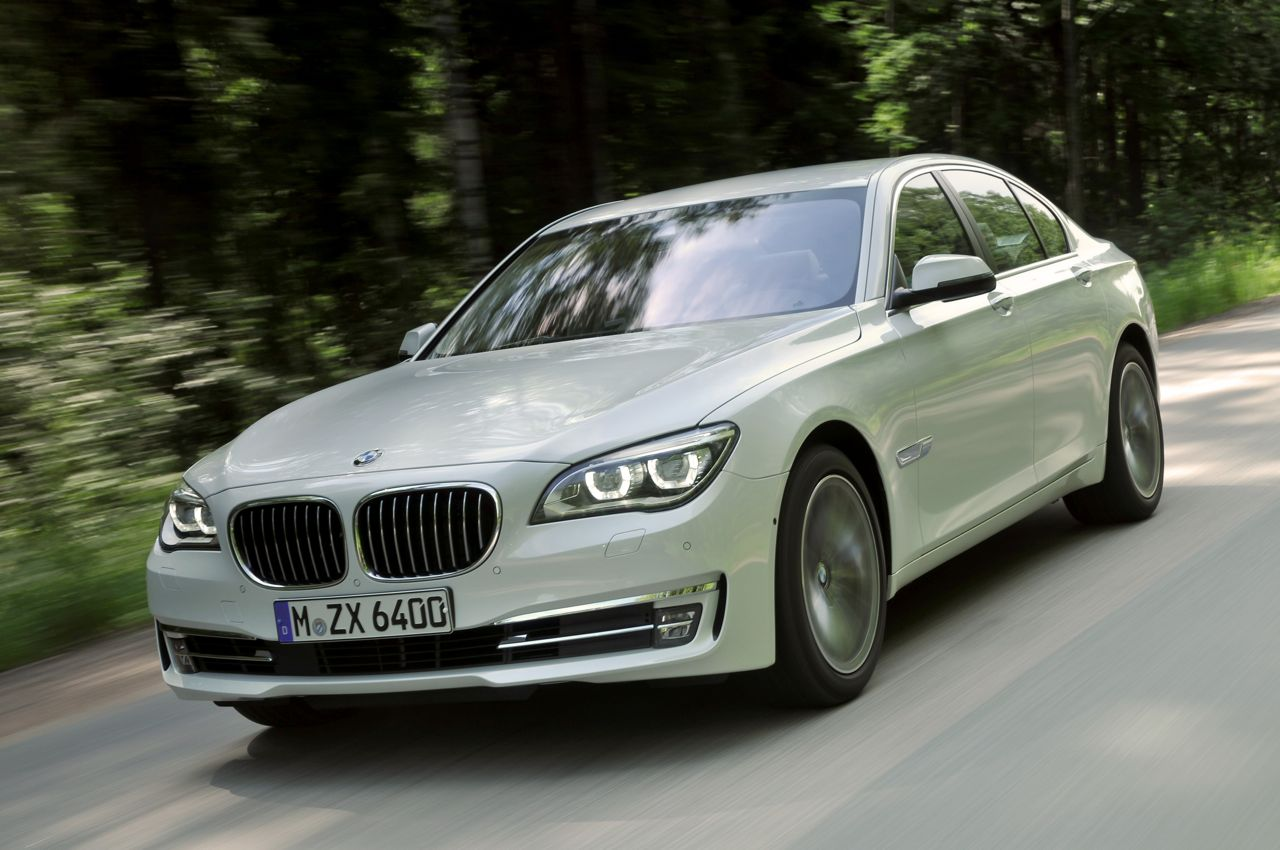 BMW 7 series 750d 2013 photo - 12
