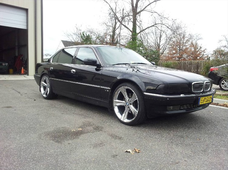 BMW 7 series 750iL 1996 photo - 7