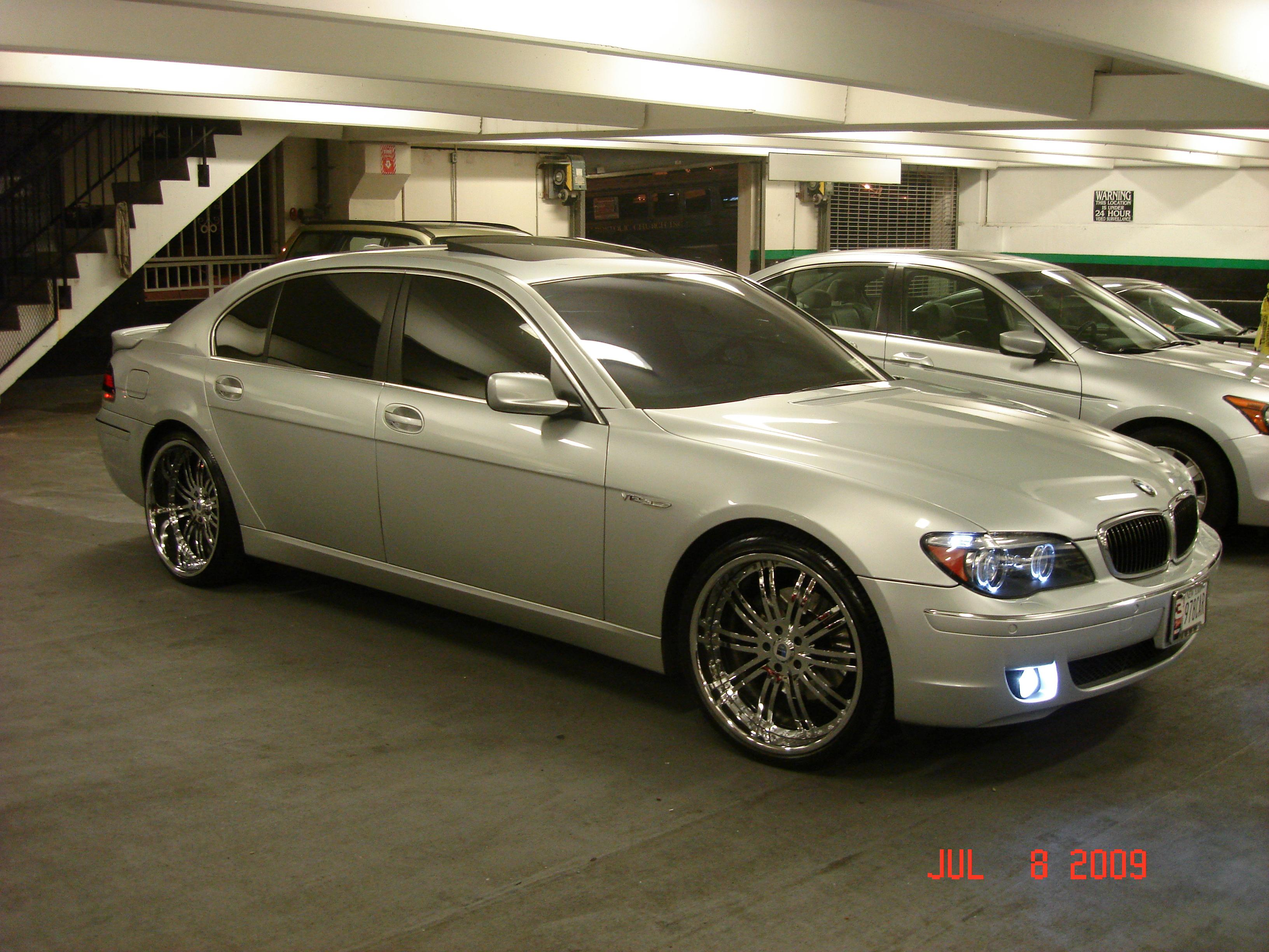 Bmw 7 Series 760li 2006 Technical Specifications