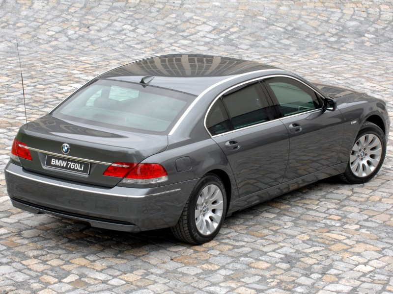 BMW 7 series 760Li 2008 photo - 12