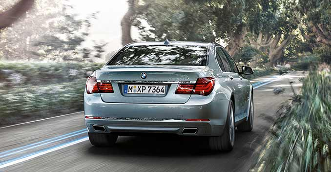 BMW 7 series ActiveHybrid 2014 photo - 4