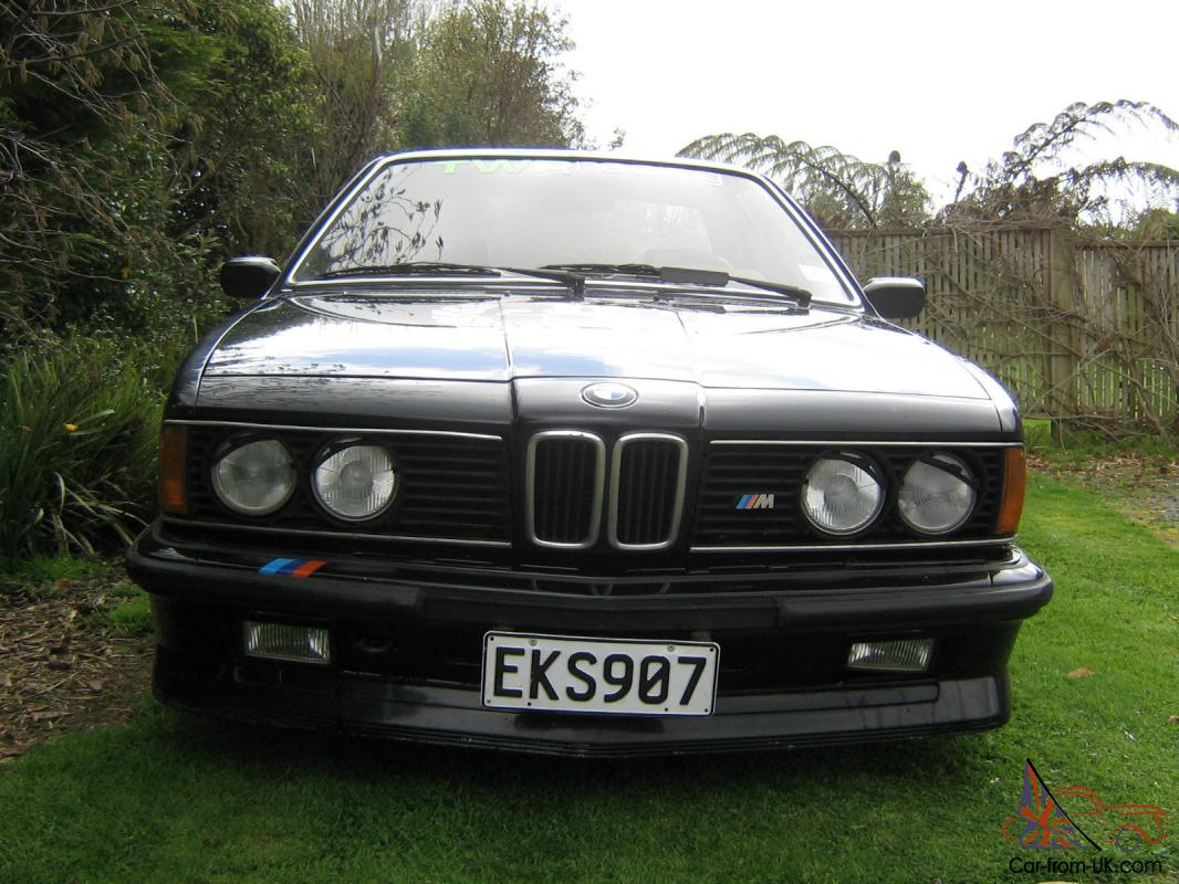 BMW M6 M635CSi 1983 photo - 4