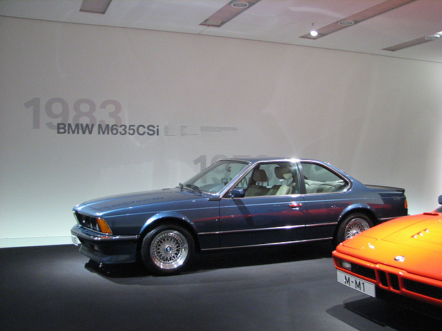 BMW M6 M635CSi 1983 photo - 5