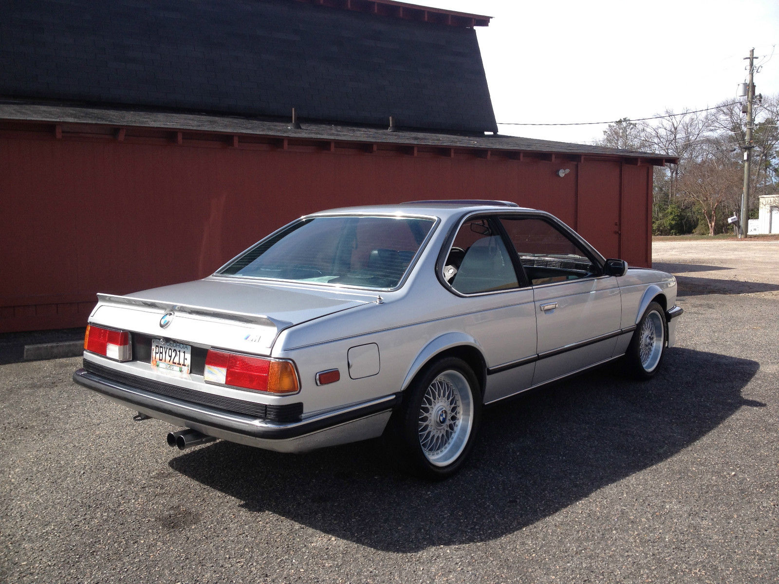 BMW M6 M635CSi 1989 photo - 11