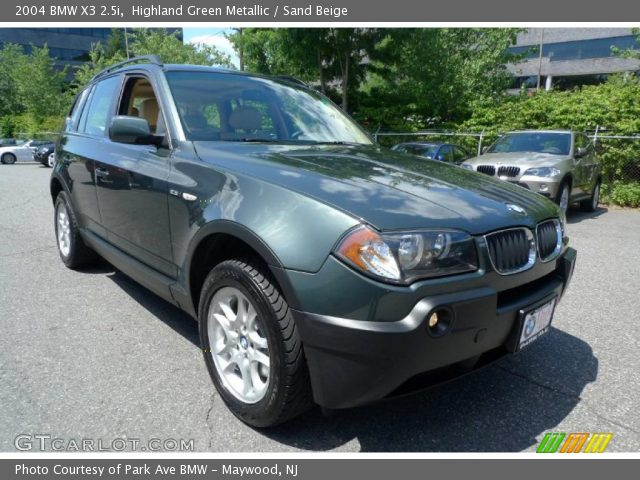 Bmw X3 2 5i 2004 Technical Specifications