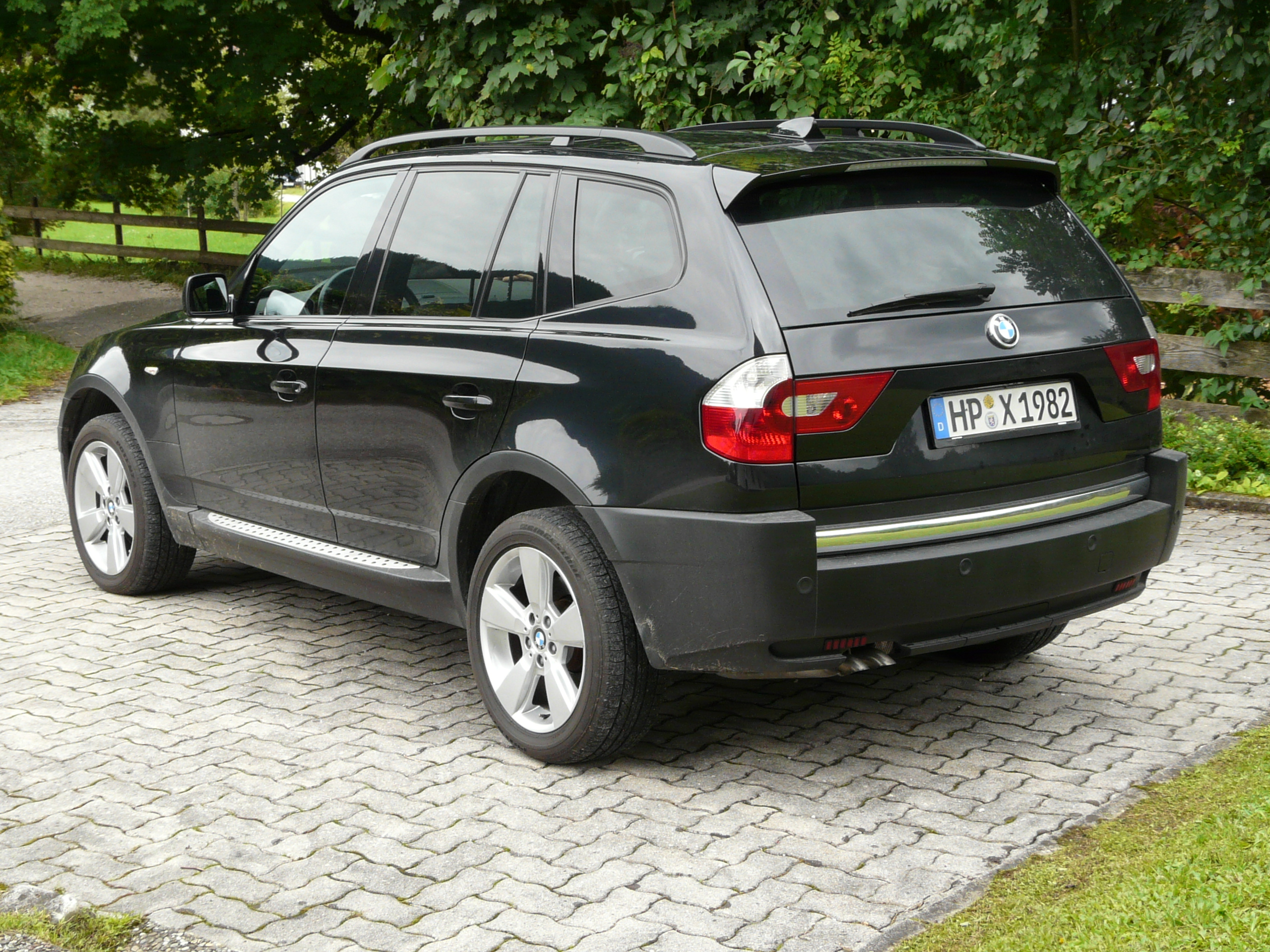 Bmw X3 3 0d 2003 Technical Specifications