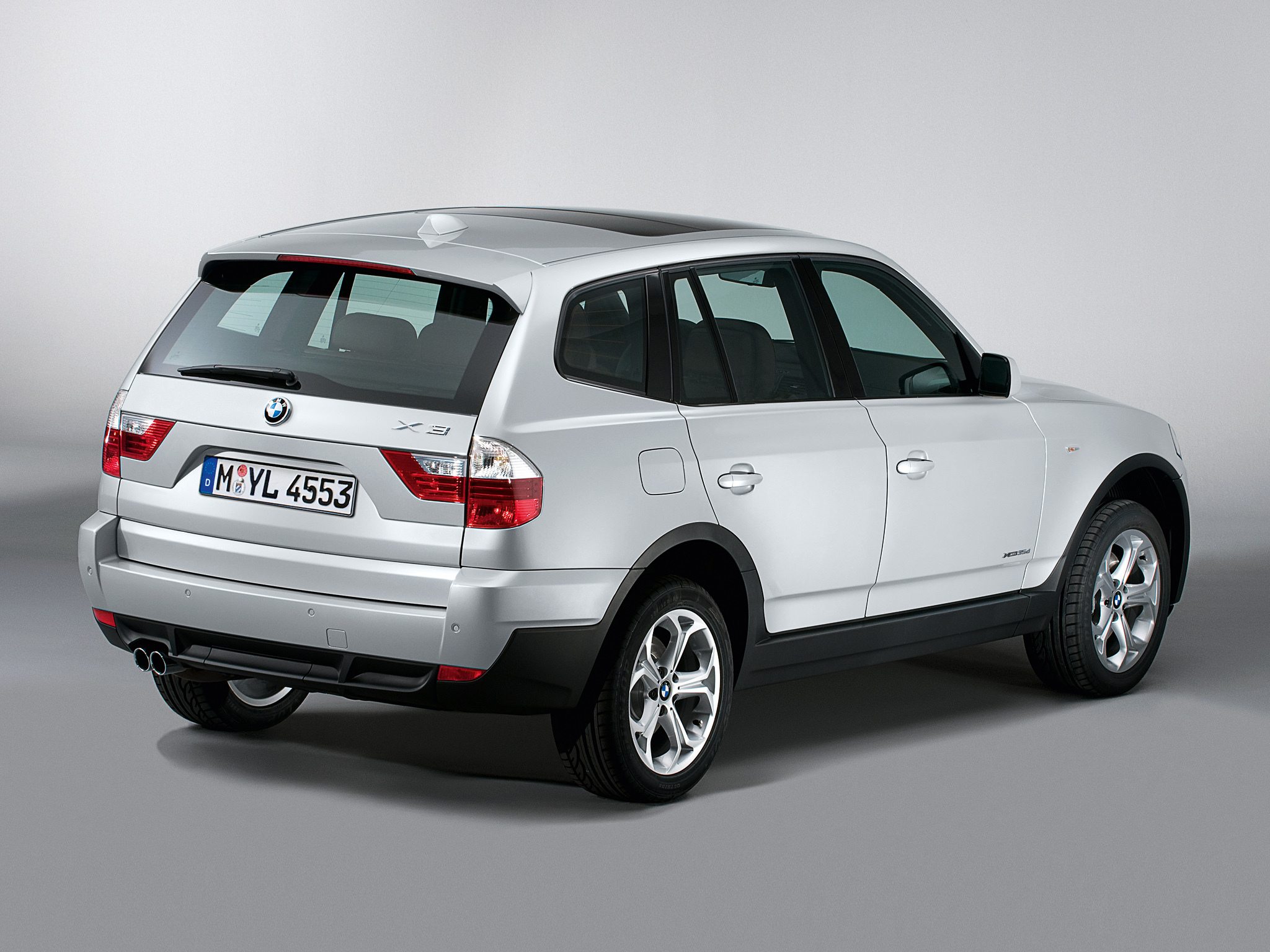 BMW X3 xDrive35d 2008 photo - 1