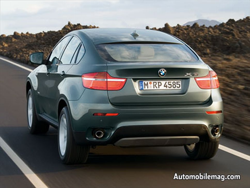 BMW X6 xDrive35i 2008 photo - 8