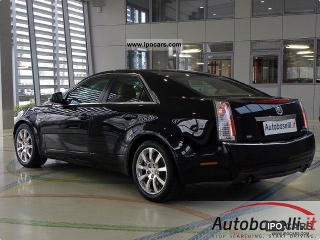 Cadillac CTS 3.6 2009 Technical specifications | Interior and ...