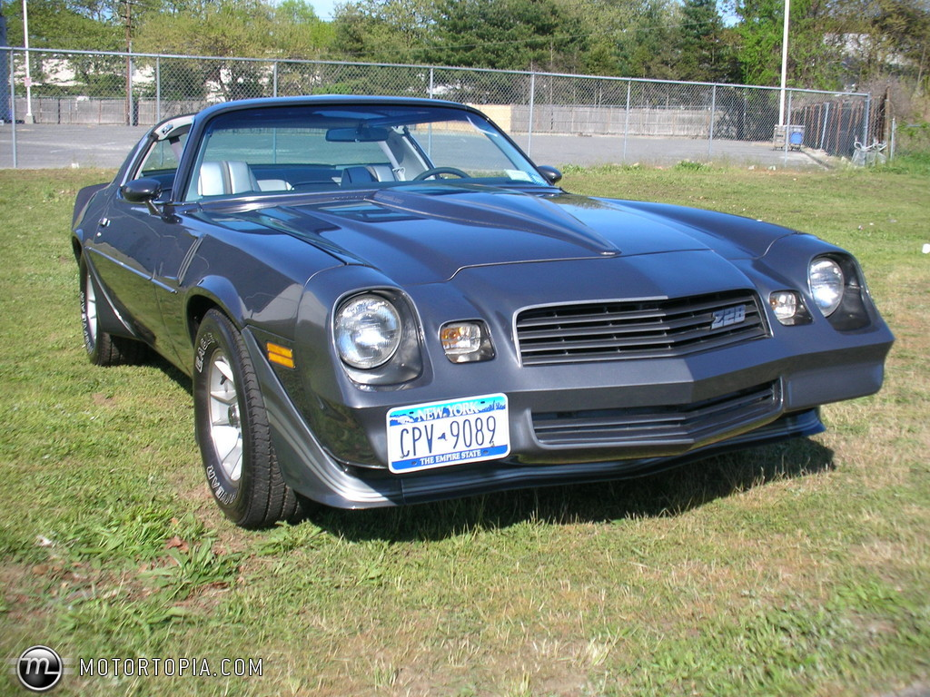 Chevrolet Camaro 5.0 1981 photo - 4