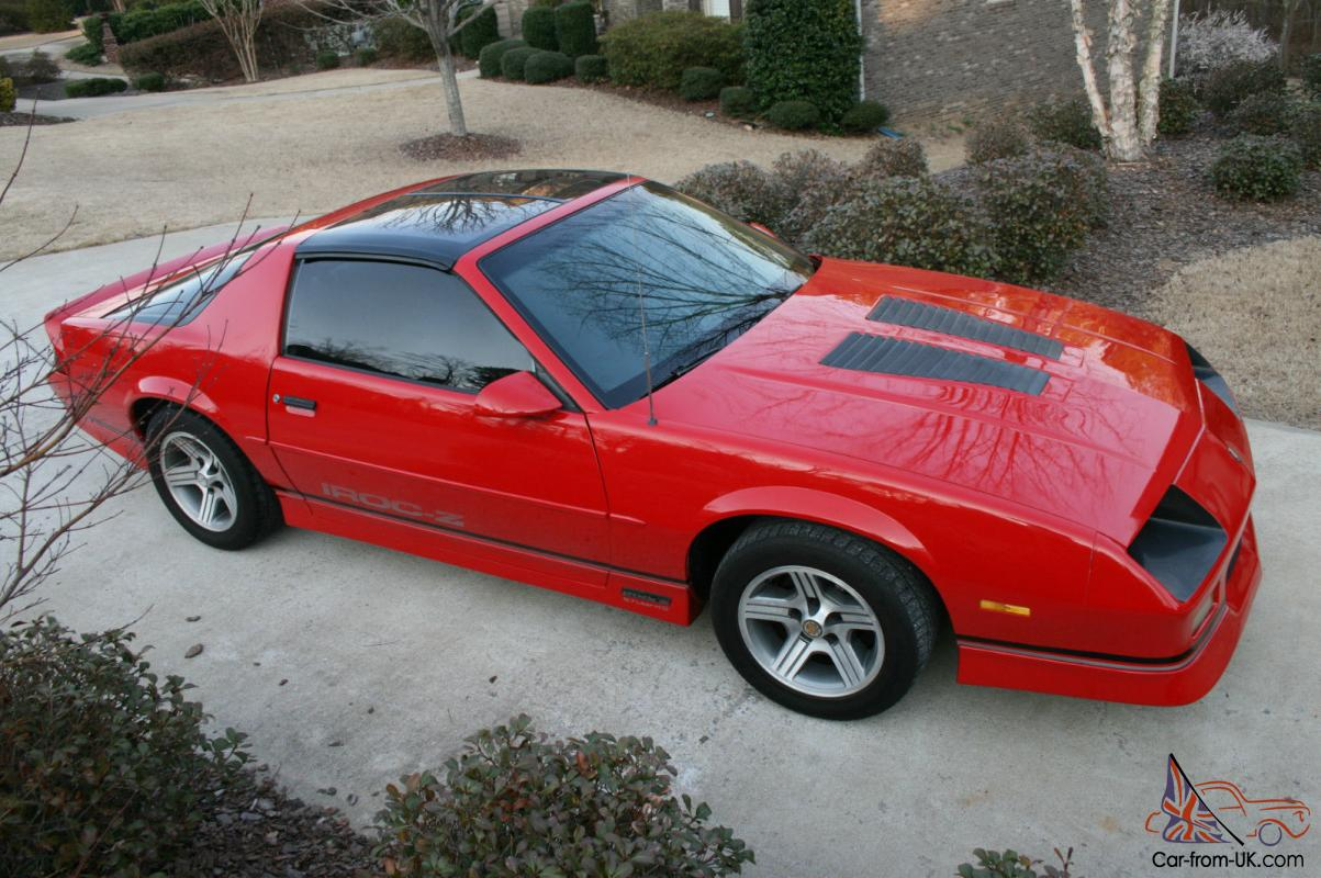 Chevrolet Camaro 5.7 1989 photo - 9