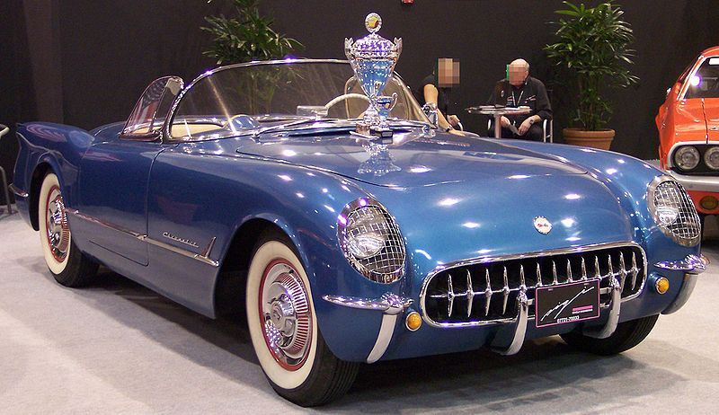Chevrolet Corvette 4.3 1954 photo - 4