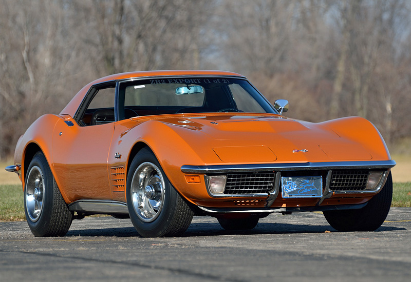 Chevrolet Corvette 7.4 1971 photo - 1