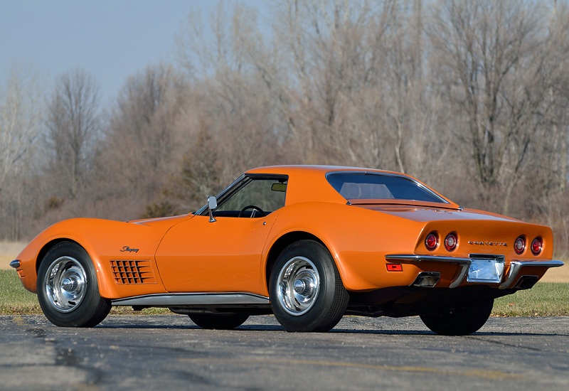 Chevrolet Corvette 7.4 1971 photo - 2