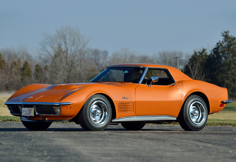 Chevrolet Corvette 7.4 1971 photo - 3