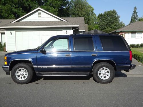 Chevrolet Tahoe 5.7 1995 photo - 5